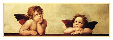 Reprodukce obrazu 100 x 35 / Cherubini ( Raffael ) + záruka 3 roky