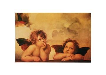Reprodukce obrazu 70 x 50 / Angeli ( Raffael ) + záruka 3 roky