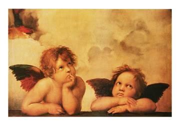 Reprodukce obrazu 100 x 70 / Angeli ( Raffael )