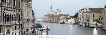 Reprodukce obrazu 106 x 40 / Evening on the Grand Canal ( Blaustein Alan ) + záruka 3 roky