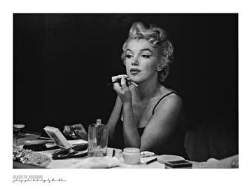 Reprodukce obrazu 80 x 60 / Marilyn Monroe - Back Stage ( Shaw Sam )