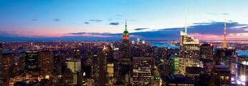 Reprodukce obrazu 95 x 33 / Aerial New York City ( Shutterstock )