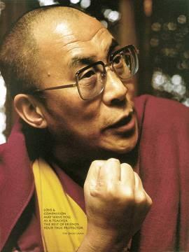 Reprodukce obrazu 48 x 70 / Dalai Lama ( Liby )