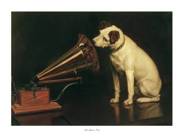 80x60 | His Master's Voice ( Barraud Francis )