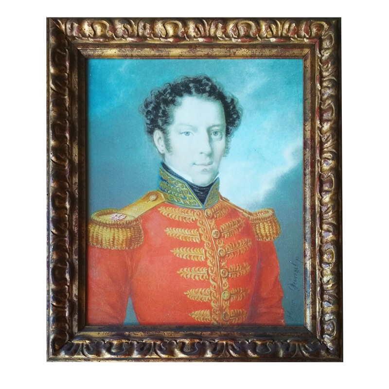 - portrét důstojníka | 53.2x62.7