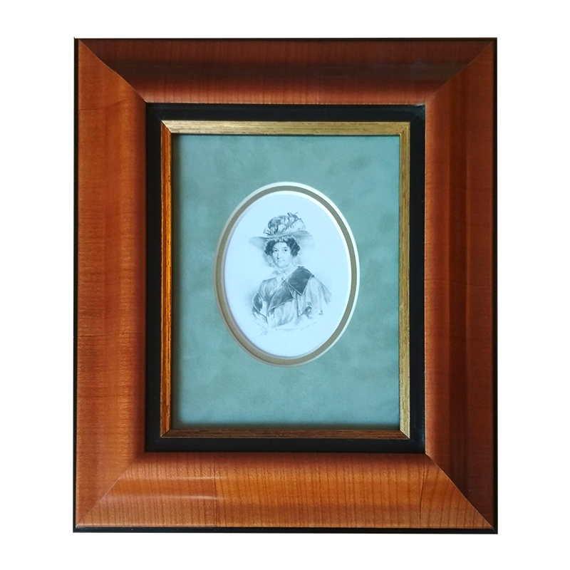 Portrét | 25x28 cm (Zarámovaný obraz)