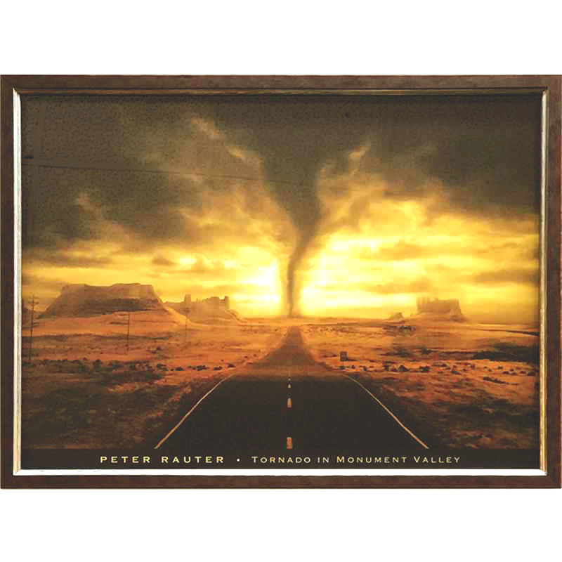 Rauter - Tornado in Monument Vally | 87.2x67.2