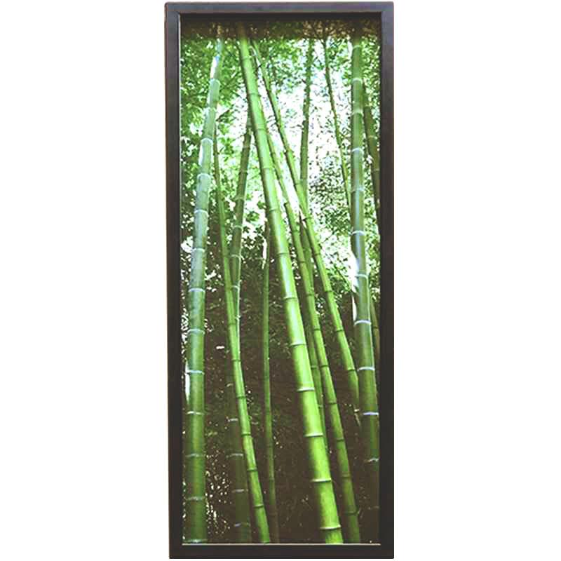 Vertical zen | Brock | 31 x 85cm (Zarámovaný obraz)
