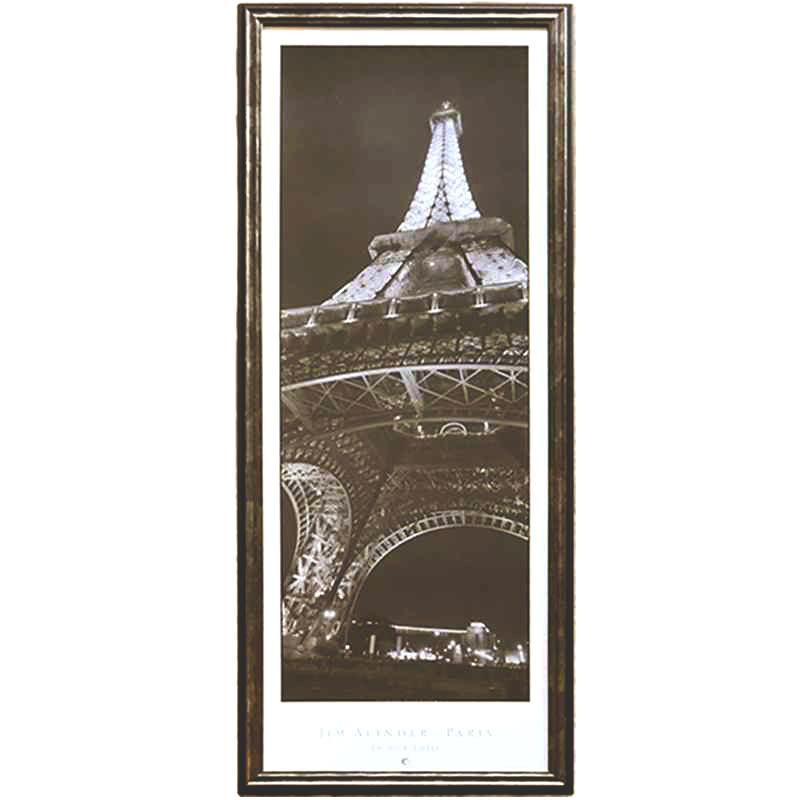 La Tour Eiffel | Alinder J. | 40 x 105cm (Zarámovaný obraz)