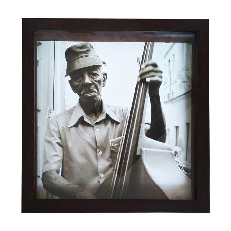 Tryptique Santiago de Cuba | Christophe Chat-Verre |  28,5x28,5 cm (Zarámovaný obraz)