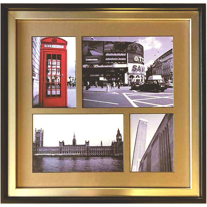 Londýn | 43 x 42cm (Zarámovaný obraz)