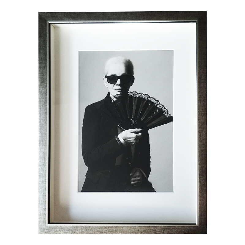 Celebrity - Eva Pilarová jako Lagerfeld |  | 28x37 cm (Zarámovaný obraz)