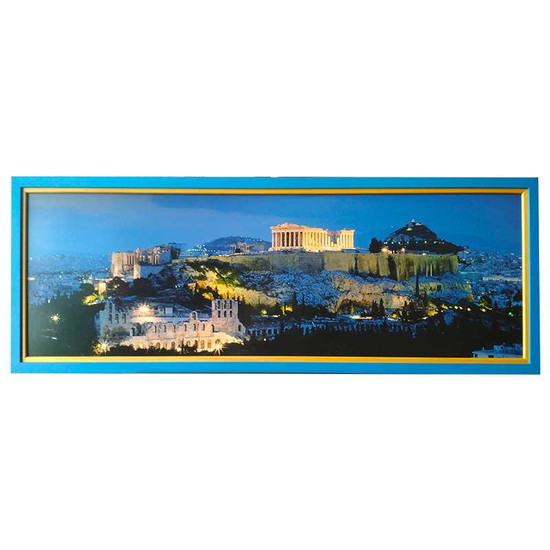 Athény |  | 100x32 cm (Zarámovaný obraz)