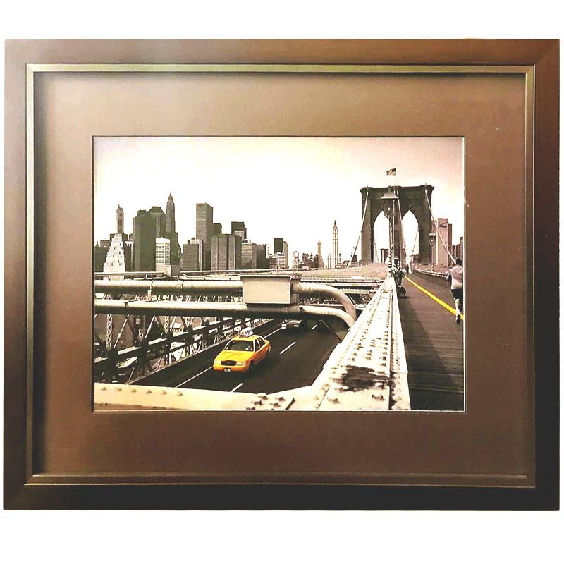 New York |  | 42x34 cm (Zarámovaný obraz)