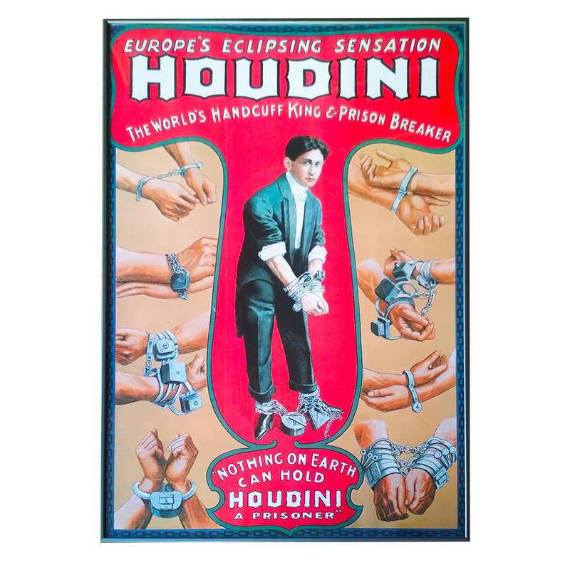 Houdiny |  | 60x92 cm (Zarámovaný obraz)