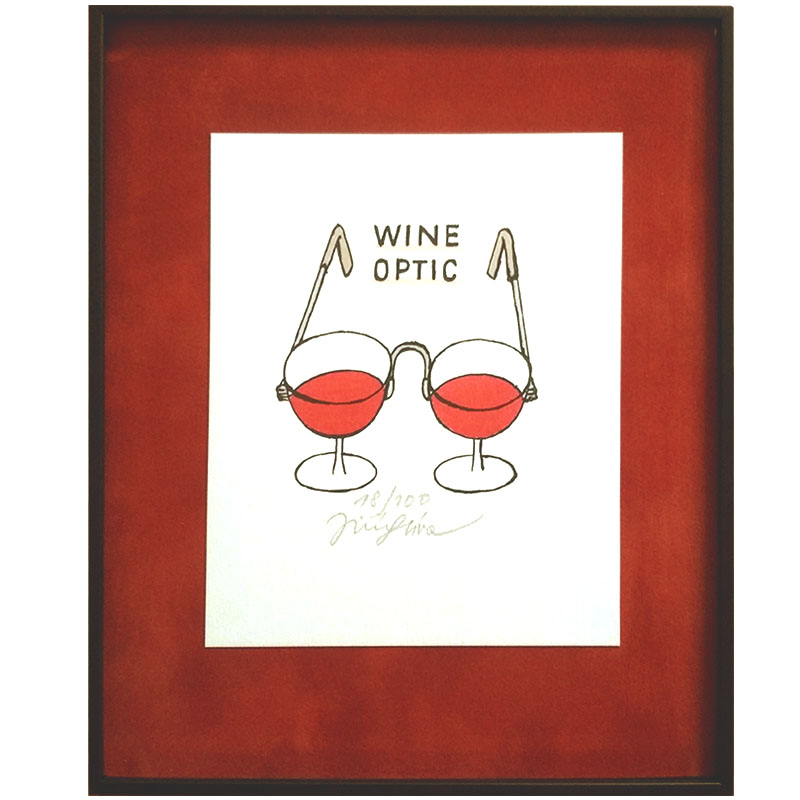 Slíva Jiří - Wine Optic | 22.2x26.2