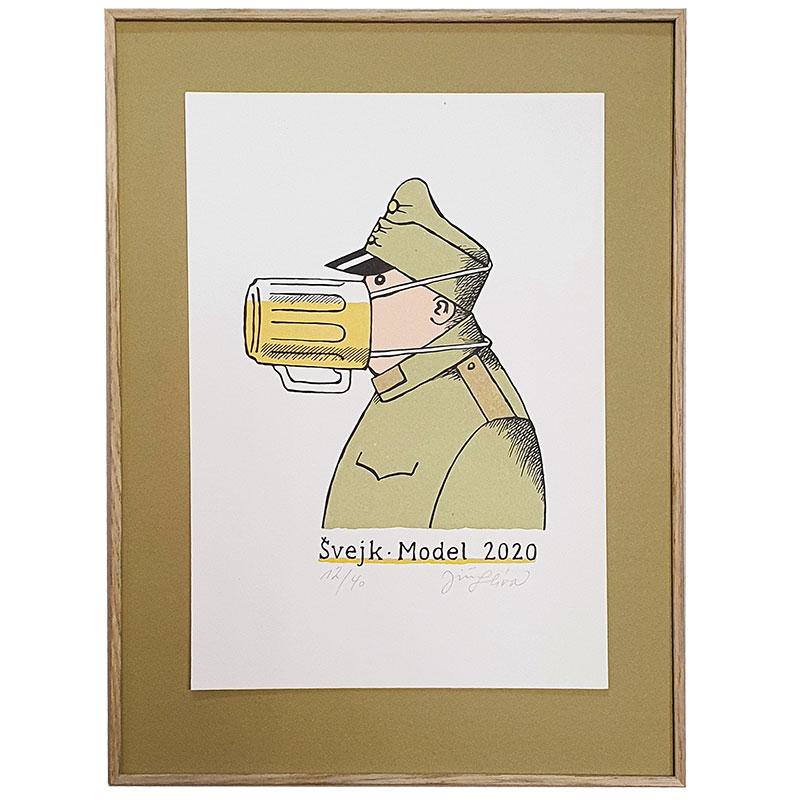 Jiří Slíva | Jiří Slíva | 29x39 cm (Zarámovaný obraz)