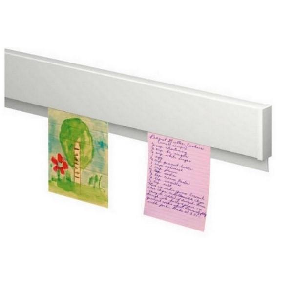 Závesný systém na obrazy, Atiteq, Info-Rail bílý 28 cm