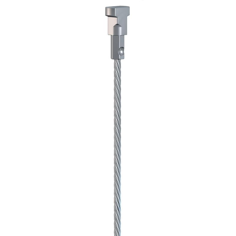 ST100 | Ocelové lanko 1m + Twister
